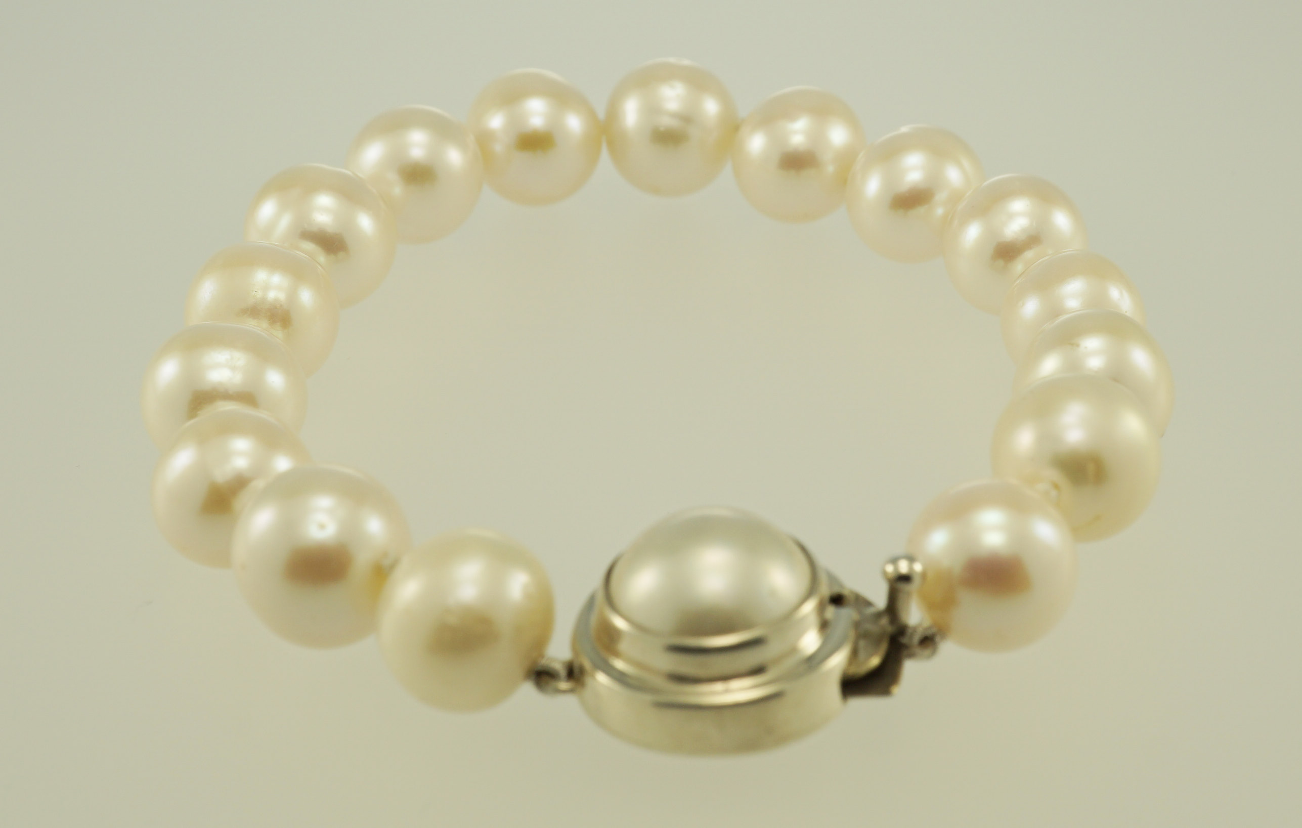 bracelet gold yellow pearl with multi winterson coloured freshwater